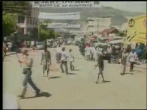 UN soldiers shooting at civilians in Haiti