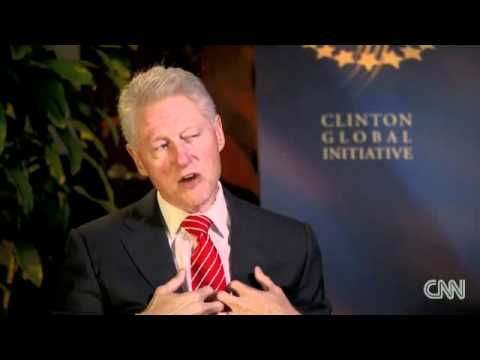 Clinton's weight loss secret: Plant based diet....