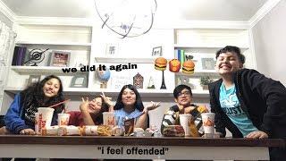 |Burger King Muckbang ft.S.P.E.D. squad|🍔🍟🖤