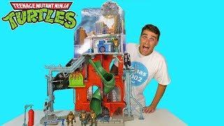 Teenage Mutant Ninja Turtles City Sewer Lair Playset ! || Toy Review || Konas2002