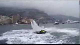 Flyboard® and Fjord Monaco Yacht show 2013