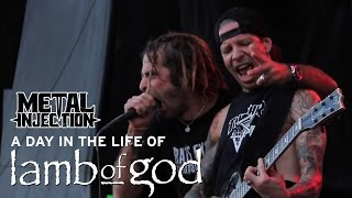 LAMB OF GOD A Day In The Life | Metal Injection