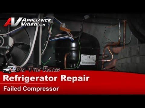 Refrigerator Repair & Diagnostic - Compressor not starting on Maytag. Whirlpool - MBF1953YEB3