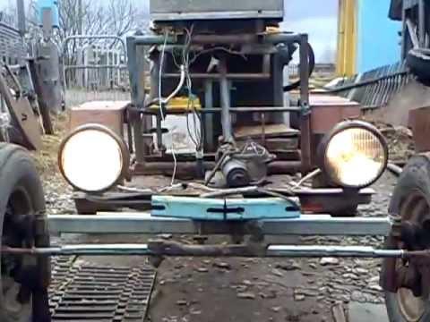 Самоделкин своими руками трактор