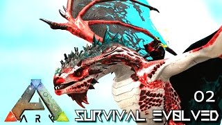 ARK: SURVIVAL EVOLVED - NEW CRYSTAL WYVERN TAME !!! E02 (MODDED ARK ETERNAL ISO CRYSTAL ISLES)