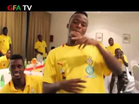 World cup 2014 Watch Ghana Black Star's Adade Foli Dance To Shatta Wale's Dancehall King 0