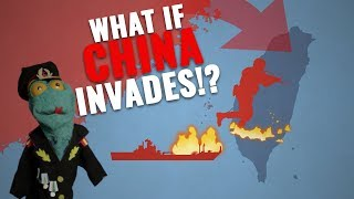 Can China conquer Taiwan within a year? Part 2/2: The landings analyzed (with US being neutral)