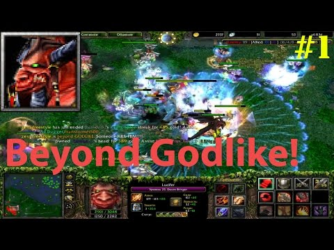 DoTa 6.83d - Lucifer, The Doom Bringer ★ Beyond GODLIKE! #1
