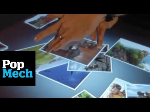 Microsoft Surface: Hands-on First Look   PopMech