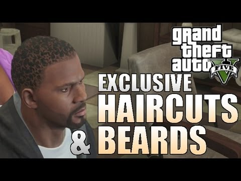 ... HAIRCUTS & BEARDS ON GTA 5 - Grand Theft Auto Collectors Edition