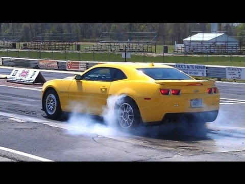 Lingenfelter Camaro ZL1 Tops 200 MPH! - Hot Rod Unlimited Episode 7