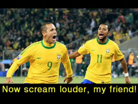 Brazil v Ivory Coast 21/06/10 Fifa world cup 2010 South Africa full game highlights and goals