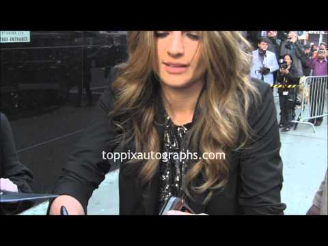 Stana Katic - Signing Autographs at 