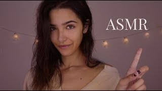ASMR Recreating My First Video: Getting Ready for Bed (Lotion, Spray, Wet sounds)