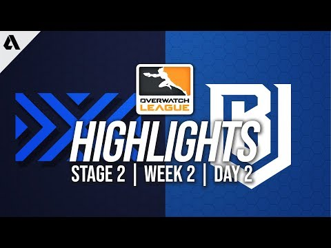 New York Excelsior vs Boston Uprising | Overwatch League Highlights OWL Stage 2 Week 2 Day 2