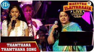 Maestro Ilaiyaraaja Live Concert - Thamthana Thamthana Song - Chitra || San Jose, Califonia