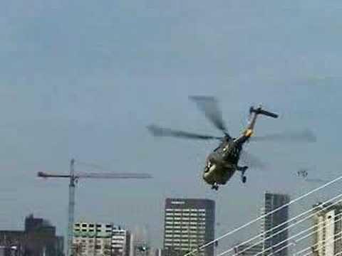 Lynx Helicopter Maneuver Demonstration