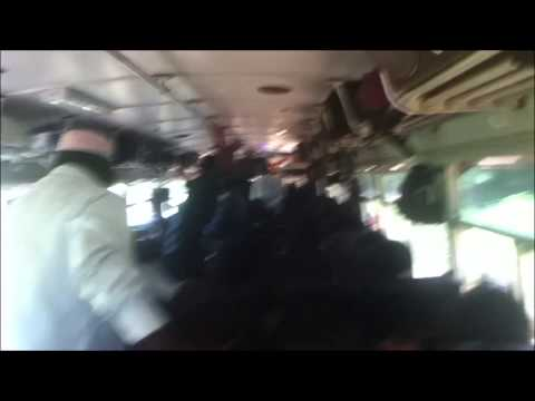 Bumpy Bus Ride From Jaffna To Mannar, Sri Lanka video