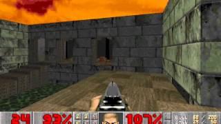 Ultimate Doom (100%) Walkthrough (E4M1: Hell Beneath)