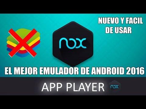 Descargar  E Instalar El Mejor Emulador De Android (NOX) 2016 PARA PC Windows 7. 8. 8.1.10