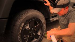 How to Plasti Dip Wrangler Wheels Without Removing Them