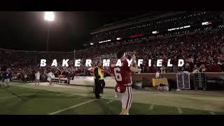 """Baker Mayfield """"I get the bag"""""""