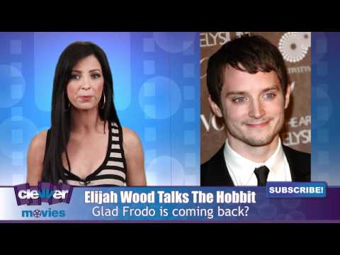 "Elijah Wood Talks Returning As ""Frodo Baggins"" In The Hobbit"