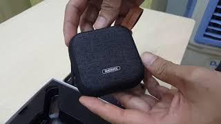 Loa Bluetooth Remax Siêu Nhỏ Gọn Siêu Tiện Lợi Âm Thanh Hay