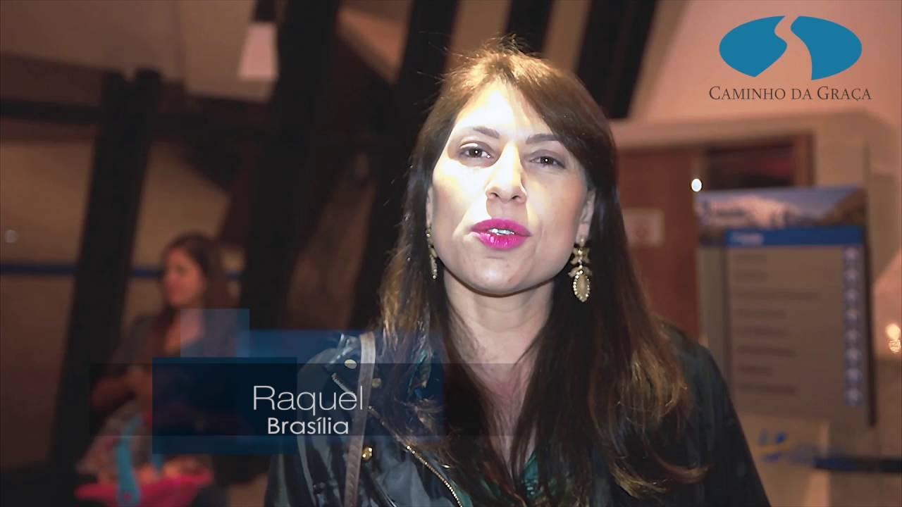 Boletim: Encontros com Caio Fábio em Brasília. Veja o depoimento da Raquel!