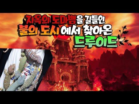지옥도마뱀을 길들인 불의도시에서 찾아온 드루이드