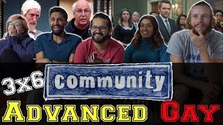 Community - 3x6 Advanced Gay - Group Reaction