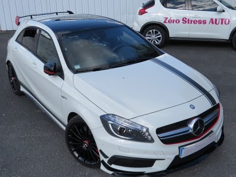mercedes classe a45 amg 360 hp edition one 1 performance edition1 cirrus white m133. Black Bedroom Furniture Sets. Home Design Ideas