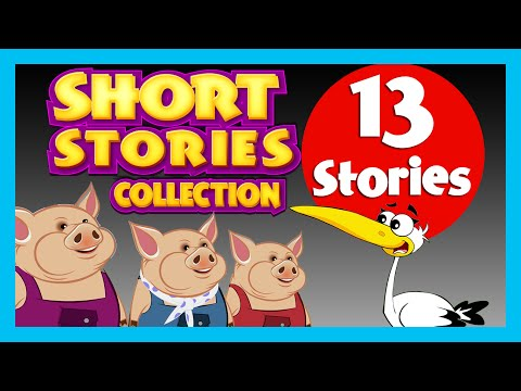 Short Story For Children (13 Moral Stories) | Three Little Pigs & More video