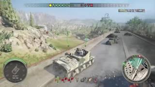 World of Tanks Xbox one Sexton I 7 Kills