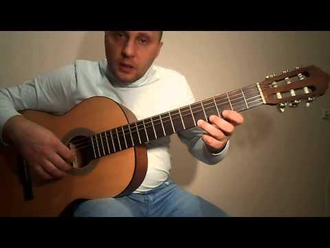 Самый простой Бумер на гитаре.Урок