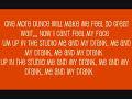 Me and My Drank + Lyrics