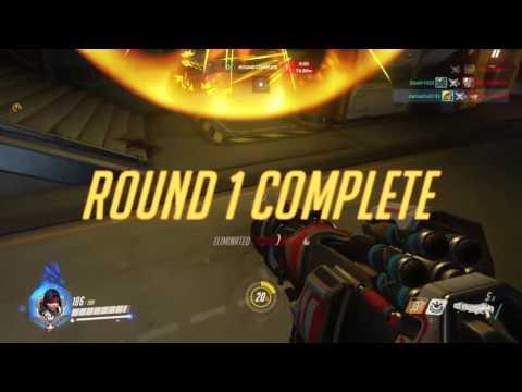 Overwatch: Beast Game Ranked Pharah 2500