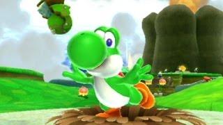 Super Mario Galaxy 2 - 100% Walkthrough Part 2 - Yoshi Star and Flip-Swap Galaxy