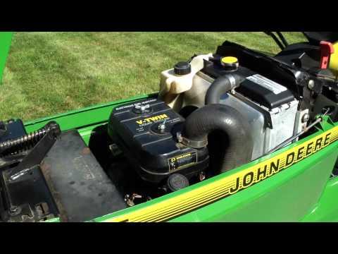 John Deere 445 restored