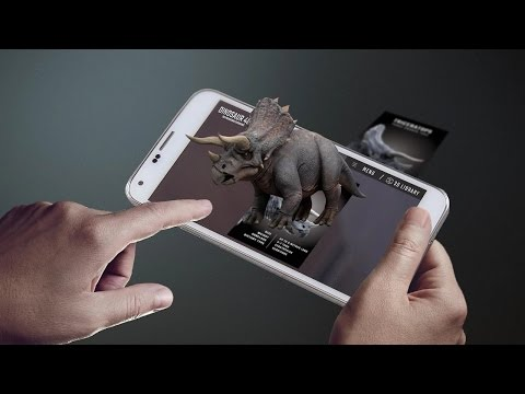 Flash Card 4D Dinosaur
