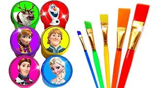 Download lagu Glitter Drawing & Coloring Ideas with Disney's Frozen Characters