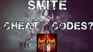 SMITE has CHEAT CODES?!?