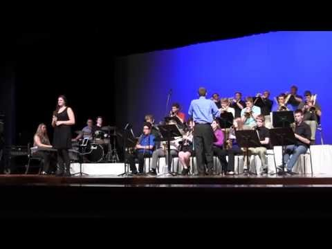 Springboro High School Jazz Ensemble - Almost Like Being in Love