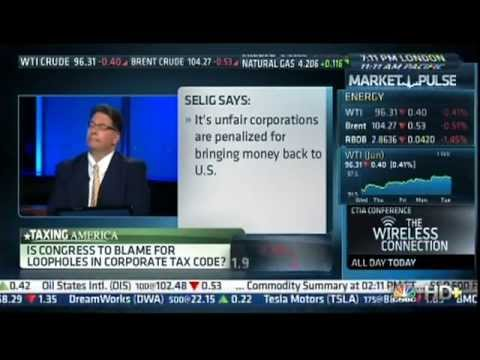 Apple Avoids Taxes, Analysis by David Selig on CNBC Street Signs 5/21/13