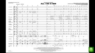 download lagu All I Do Is Win Arranged By Jay Bocook gratis