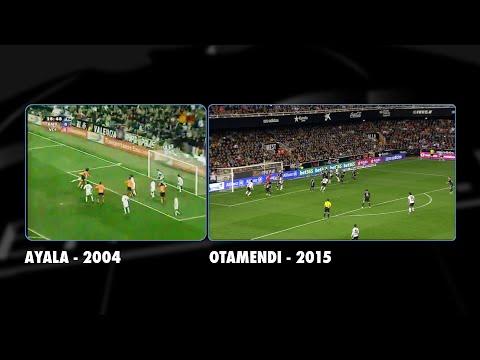 The fan who inspired Otamendi's goal in Valencia CF-Real Madrid (2-1, 4/1/15)
