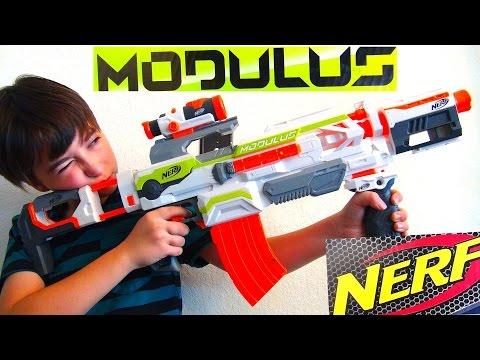 Robert-Andre's Nerf N-Strike Modulus ECS-10 Blaster!