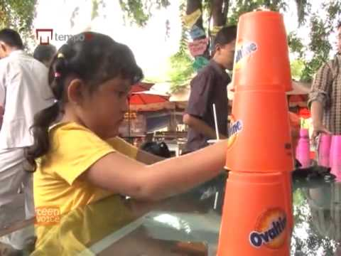 Indonesia Sport Stacking at Teen Voice TV
