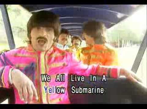 Beatles - Yellow submaine