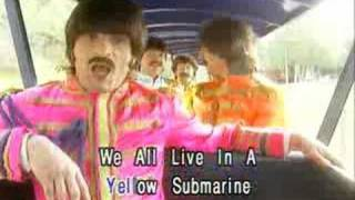 Watch Beatles Yellow Submarine video